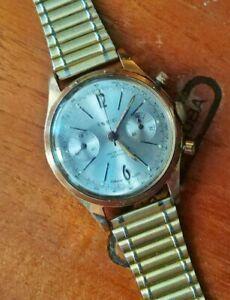 Montre Chronographe Ixor De 1960. Landeron 248