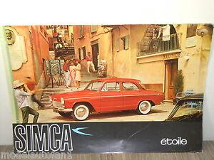 Folder/Brochure Simca Etoile Limousine *4382