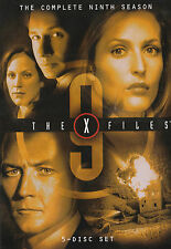 The X-FILES SEASON 9 NEW but UNSEALED 5-Disc Set Region 1  UPC: 5039036018326  I