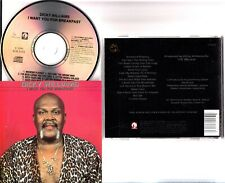 Dicky Williams – I Want You For Breakfast CD 1991 Ichiban Blues/Soul-Funk