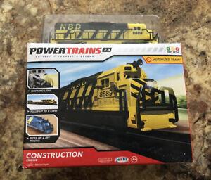 Power Trains 2.0 CONSTRUCTION ENGINE Motorized Train ~Jakks Pacific~New!!