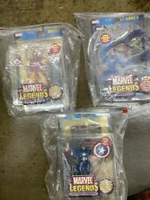 Marvel Legends ToyBiz Complete Set Series 1&5 Ironman,Captain America Gold Foil