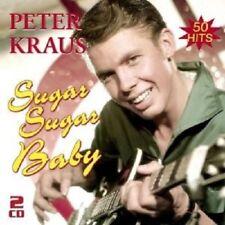 Peter Kraus-SUGAR SUGAR BABY-i migliori hits 2 CD NUOVO