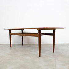 Danish Modern Teak Coffee Table 60s Denmark | Sofa Couchtisch Mid Century 60er