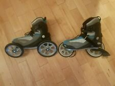 Mojo Landroller Mens 12 Angled Wheel Inline Skates Nice Terra 9