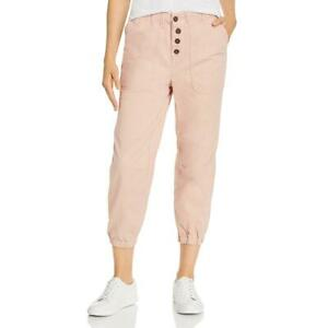 Free People Womens Pink Jogger Pull-On Solid Jogger Jeans XS BHFO 9037