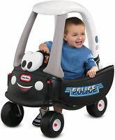 Patrol Ride On Car Push Scoot Classic Outdoor Fun Kids Police Cruiser