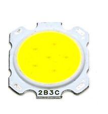 Led cob round 3W 12V bianco freddo 260mA per faretti alta luminosità 28mmX20mm