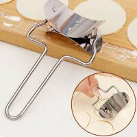 1Pc Stainless Steel Dough Cutter Dumpling / Jiaozi Skin Maker Kitchen Cook Tool