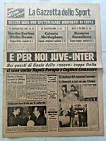 GAZZETTA DELLO SPORT 25-4-1979 JUVENTUS-INTER NAPOLI-PERUGIA BEVEREN-BARCELLONA
