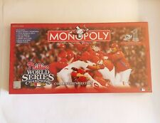 Philadelphia Phillies World Series Champs 2008 Monopoly Collectors Edition New