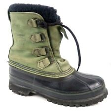 Sorel Women's 10 Green Black Warm Winter Snow Boot Shoes