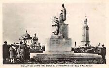 Colline de LORETTE - Statue de Général Maistre (oeuvre de Max Blondat)