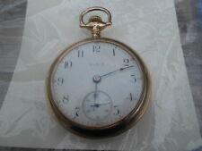 Antique 1910 Elgin Pocket Watch 17 Jewel GF OPENFACE Case ~ Runs Great~12S-USA