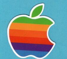Lot of 2 Apple Logo Vinyl Stickers
