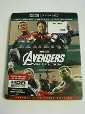 The Avengers Age Of Ultron (4K Ultra HD slip cover only)No Disc No Blu Ray