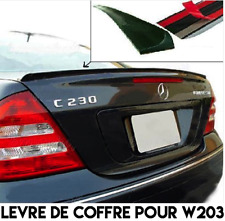 BOOT LIP SPOILER REAR TRUNK for MERCEDES BENZ W203 C Class 2000-07 C55 AMG Style
