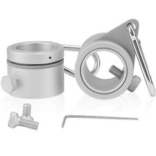 New listing Rocen Flag Pole Rings - 360° Rotating Flagpole Flag Mounting Rings - Aluminum.