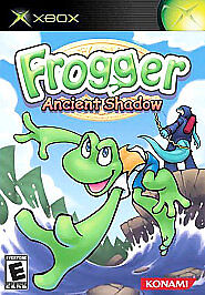 Frogger: Ancient Shadow (Microsoft Xbox, 2005) COMPLETE EVERYONE FAST SHIPPING
