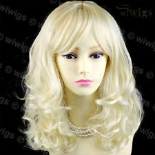 Wiwigs Stunning Vanilla Blonde Curly Medium Skin Top Ladies Wig
