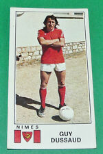 N°245 GUY DUSSAUD NIMES OLYMPIQUE CROCOS PANINI FOOTBALL 77 1976-1977