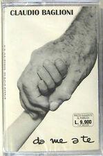 """CLAUDIO BAGLIONI """"DA ME A TE""""  rara musicassetta sigillata"""