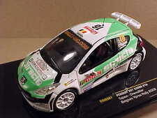 Ixo #RAM387 1/43 Diecast Peugeot 207, '09 Belgium Ypres Rally, Structo - decomo