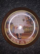 """Musical, Framed Gone with the Wind collectors plate """"Tara: Scarlett's True Love"""""""