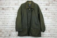 Mascot Green Wax Jacket size M No.M717 08/3