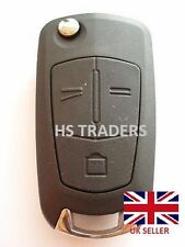 For Vauxhall OPEL ASTRA VECTRA 3 Button Remote Flip Key Fob Case with blade A51