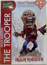"THE TROOPER Eddie Iron Maiden 8"" inch Head Knockers Resin Bobble Head Neca 2017"