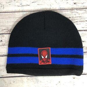 Marvel Spider-Man Fleece Lined Hat Beanie Cap - Boy's