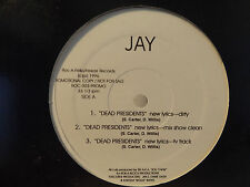 "JAY-Z - DEAD PRESIDENTS / AIN'T NO N*GGA (12"")  1996!!  RARE!!  FOXY BROWN + SKI"