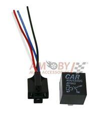 AUTO Relè 4 PIN SPST Allarme Relay Per Auto Furgone Barca Bike 12v DC 40a 40 Amp