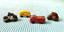 New listing Vintage Hallmark 1983 Road Rovers Diecast Toy Cars Set 4 Fiery Fuzz Banana Mouse