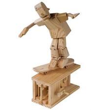 Timberkits Construcción De Madera patinador Educativo Madera Kit Automata