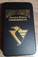 Mario Lemieux 2001 Limited Edition Gold Card