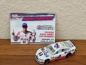 2017 #4 Kevin Harvick Mobil 1 Sonoma Win Wave 11 1/64 NASCAR Diecast Loose