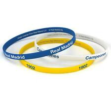 Real Madrid F.C. 3pk Silicone Wristbands Official Merchandise