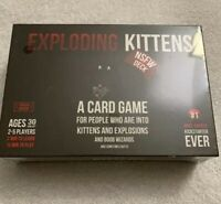Exploding Kittens Card Game NSFW Edition Deck | SEALED