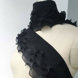 Garment Apparel Accessory Crinkle Lace Fabric for Dress Costume Clothes By Meter
