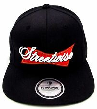 STREETWISE King Of Kings Snapback Cap Hat Adult OSFM Adjustable Black New