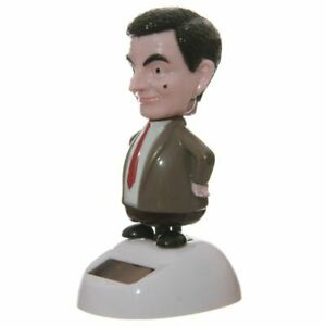 MR BEAN Solar Powered Dancing Figure - Novelty Office Car Home Window Gift Funny