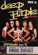 DEEP PURPLE Konzertplakat von 1996 in DÜSSELDORF