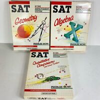 IT History 1984 Software SAT Score Math Bundle Geometry Alg Commodore 64 Hayden