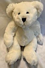 "Frango 2003 Plush White Snow Teddy Bear 12"" Chosun Internatiol Frango Mints"