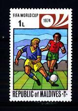 MALDIVIAN ISLANDS - MALDIVE - 1974 - Coppa del Mondo FIFA, Germania Ovest