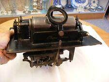 Original Edison Standard Cylinder Phonograph - Mechanism - Sold as is!
