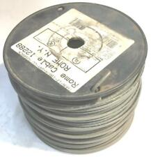 Gray 12 AWG THHN Stranded Wire 12 LB Spool NOS