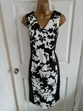 Gorgeous Monochrome Smart Work Wear Occasion Dress. Size 14. New With Tags.